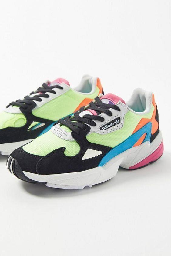 """<strong><a href=""""https://www.urbanoutfitters.com/shop/adidas-originals-falcon-neon-sneaker?category=SEARCHRESULTS&color=072"""" target=""""_blank"""" rel=""""noopener noreferrer"""">Get the Adidas Originals Falcon neon sneaker for $100.</a></strong>"""