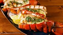 """<p>You fancy, huh.</p><p>Get the recipe from <a href=""""https://www.delish.com/cooking/recipe-ideas/a26883467/grilled-lobster-tail-recipe/"""" rel=""""nofollow noopener"""" target=""""_blank"""" data-ylk=""""slk:Delish"""" class=""""link rapid-noclick-resp"""">Delish</a>.</p>"""