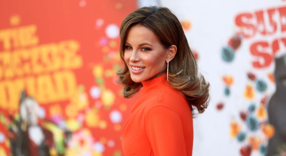 Kate Beckinsale's latest outfit has gone down well on Instagram. (Getty Images)