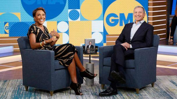 PHOTO: Chairman and Chief Executive Officer of the Walt Disney Company Bob Iger is a guest on 'Good Morning America,' September 23, 2019, on the Walt Disney Television Network. (Heidi Gutman/Walt Disney Television)