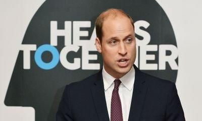 Prince William to launch workplace well-being website