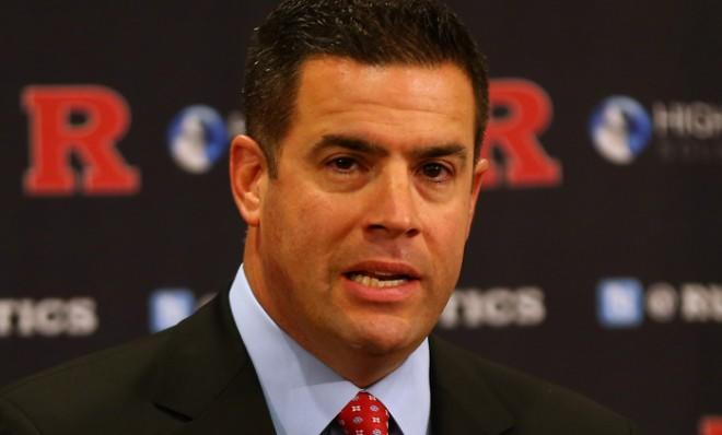 Rutgers Athletic Director Tim Pernetti is out for not taking strong enough action against coach Mike Rice for his abusive behavior.