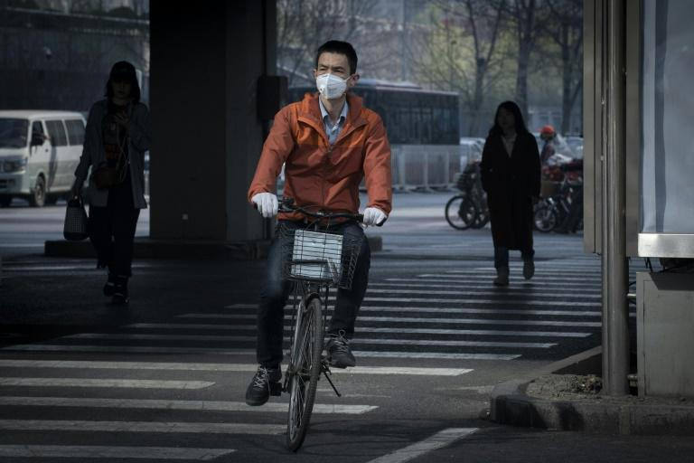 Ambient air pollution was responsible for 40 percent of all pollution related deaths, led by China with 1.2 million deaths (AFP Photo/NICOLAS ASFOURI)