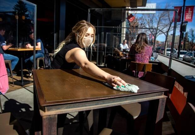 Calgary's new reopening grants program is targeting restaurants, bars, pubs, fitness centres and entertainment venues like nightclubs. (Colleen De Neve for CBC News - image credit)