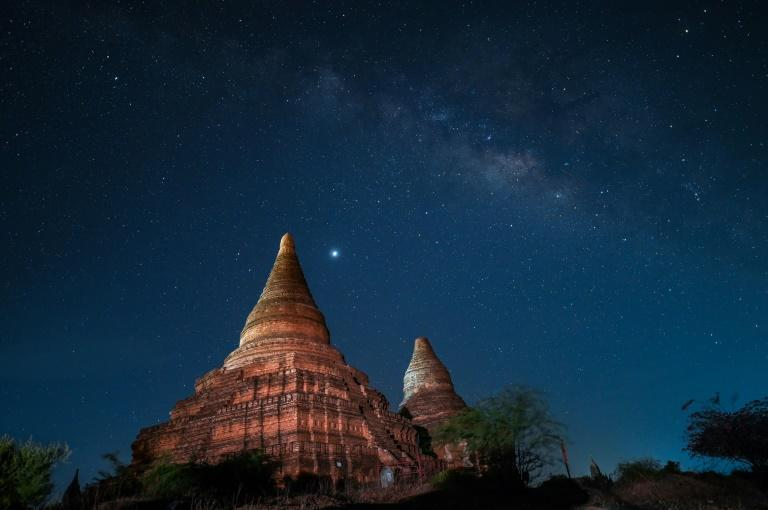 Bagan welcomed nearly half a million visitors in 2019, while this year the figure was 130,000 up until the country's New Year festival in April