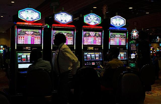 The legalization of sports betting has boosted Atlantic City casinos, but most of the bets have been made online (AFP Photo/Jewel SAMAD )