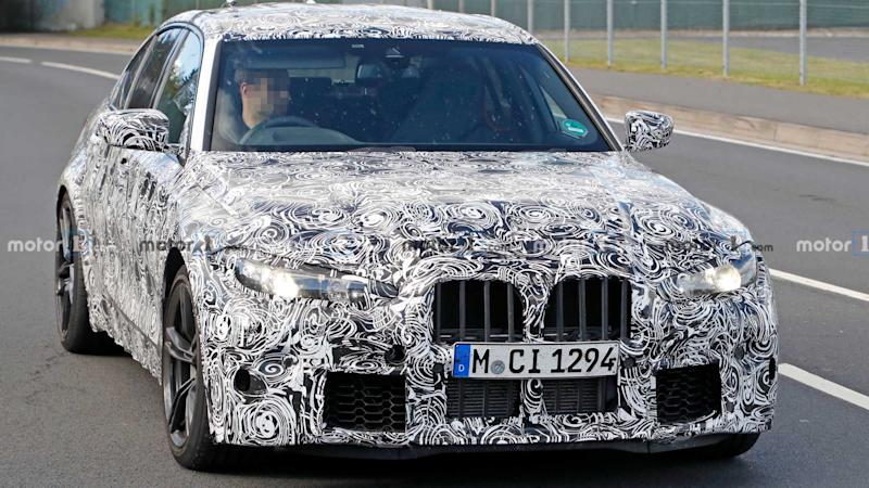 BMW M3 Spy Photo