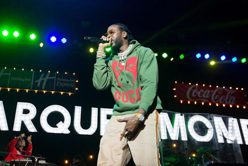 2 Chainz performs at the Marquee Moments concert, organized by Coke, Holiday Inn and Holiday Inn Express, in Atlanta on Thursday   Bobby Singh