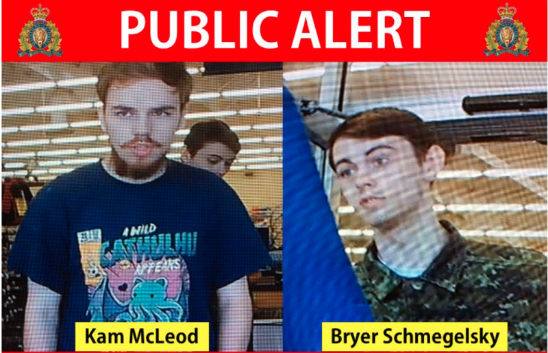 People in northern Manitoba are tense after RCMP announced two men in a national manhunt could be in the area.