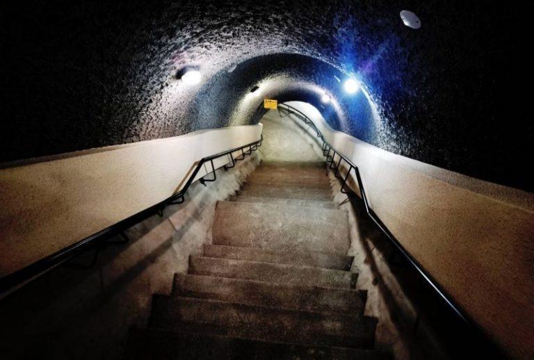 <p>Following the secret underground passage on the west side, Grand Hotel Taipei has opened the other passage on the east side to the public on Thursday. (Courtesy of Grand Hotel Taipei)</p>
