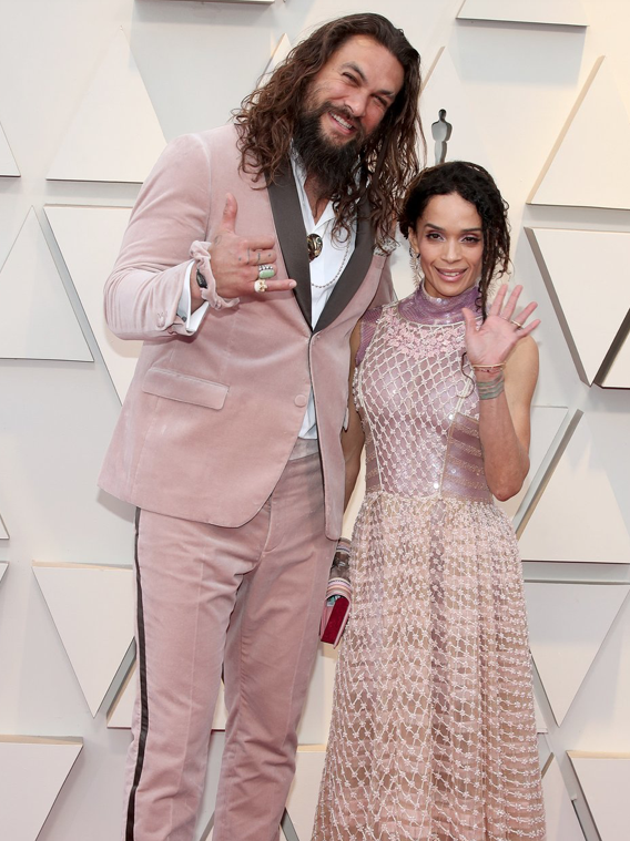 Jason Momoa and Lisa Bonet PHOTO: CHRISTOPHER POLK/REX/SHUTTERSTOCK | Jason Momoa and Lisa Bonet CHRISTOPHER POLK/REX/SHUTTERSTOCK