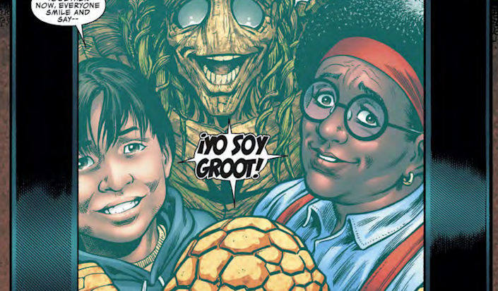 'Guardians of the Galaxy' Character Groot Has Puerto Rican Roots in New Comic