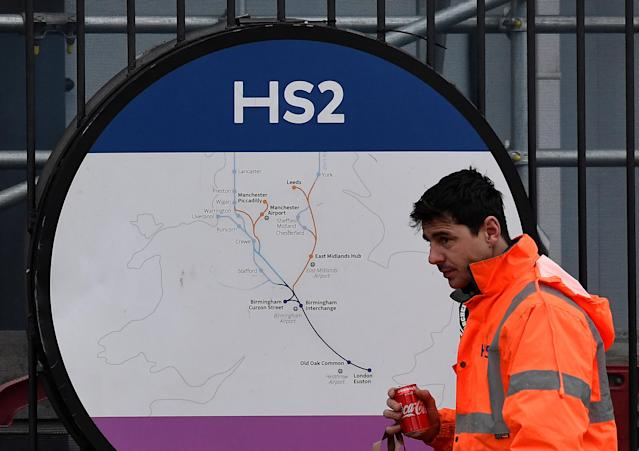 An expert has called HS2 the 'wrong and expensive solution' to improving commuter journeys. Photo: Toby Melville/Reuters