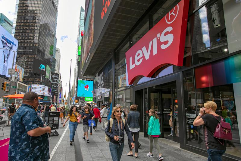 Levi's cutting 15% of its corporate workforce after sales drop due to coronavirus pandemic