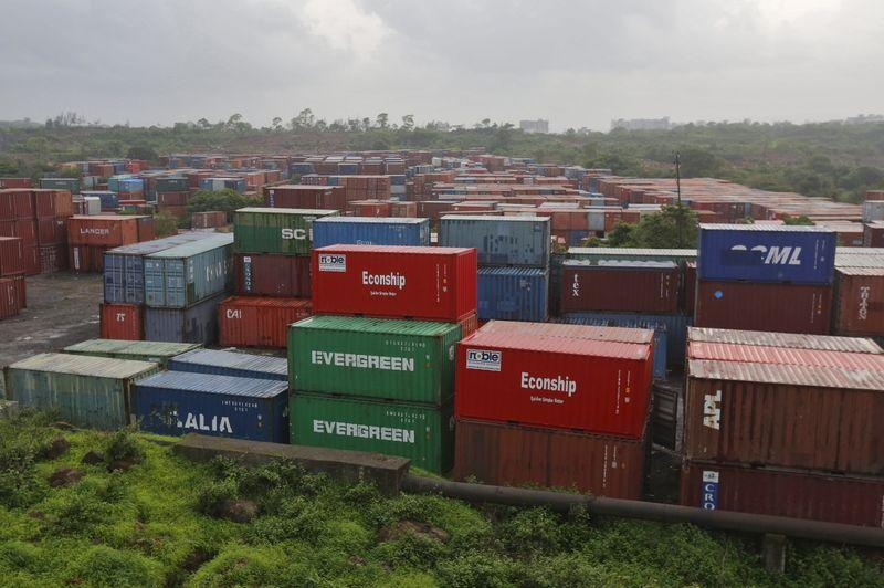 Indian exports fall by over 36% in May