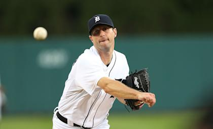 Max Scherzer, 30, received the second-largest guarantee ever for a pitcher. (Getty)