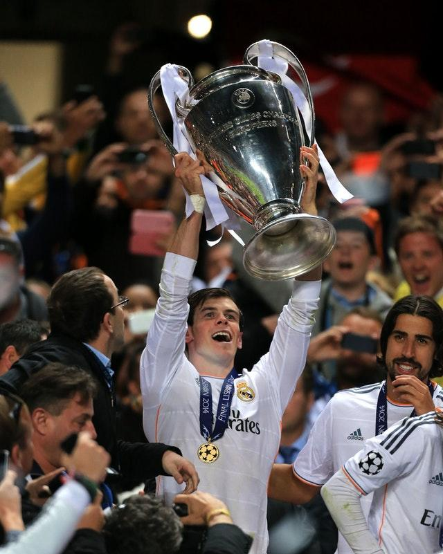 Bale has enjoyed some happy times in Madrid
