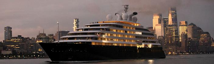 The goody bag include a luxury cruise on the Scenic Eclipse yacht. [Photo: Scenic Eclipse]