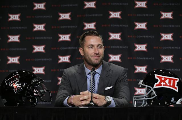 Texas Tech coach Kliff Kingsbury agrees to contract extension through 2020