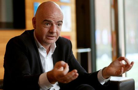 b39ddfa062f Infantino says World Cup plan would keep dream alive for more teams