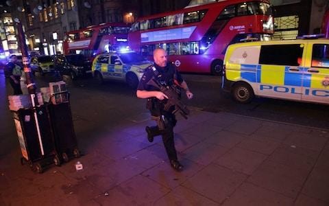 Armed police response