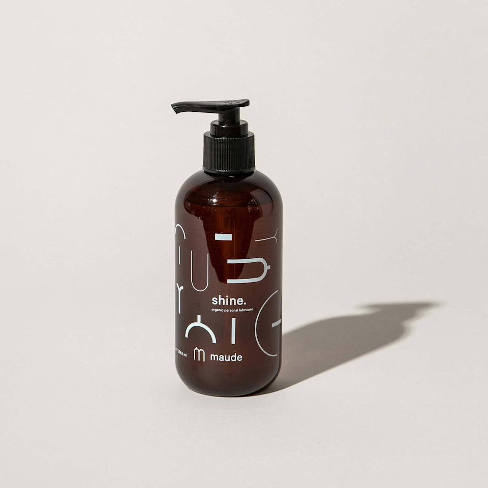 """<h3><a href=""""https://getmaude.com/products/shine-organic-lube"""" rel=""""nofollow noopener"""" target=""""_blank"""" data-ylk=""""slk:Maude Shine Organic Personal Lubricant"""" class=""""link rapid-noclick-resp"""">Maude Shine Organic Personal Lubricant</a></h3><br>It's no surprise that Maude's beside chic, 100% natural, and pH-balanced bottle has once again topped our monthly most wanted list — especially after we featured it as one of the star contenders in our <a href=""""https://refinery29.com/en-us/best-lube-reviews"""" rel=""""nofollow noopener"""" target=""""_blank"""" data-ylk=""""slk:top women-approved lubes roundup"""" class=""""link rapid-noclick-resp"""">top women-approved lubes roundup</a>. <br><br><strong>Maude</strong> shine. organic personal lubricant, $, available at <a href=""""https://getmaude.com/products/shine-organic-lube"""" rel=""""nofollow noopener"""" target=""""_blank"""" data-ylk=""""slk:Maude"""" class=""""link rapid-noclick-resp"""">Maude</a>"""