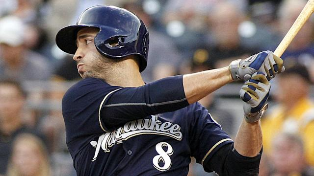 The Dodgers are trying to make a move for Brewers outfielder Ryan Braun.
