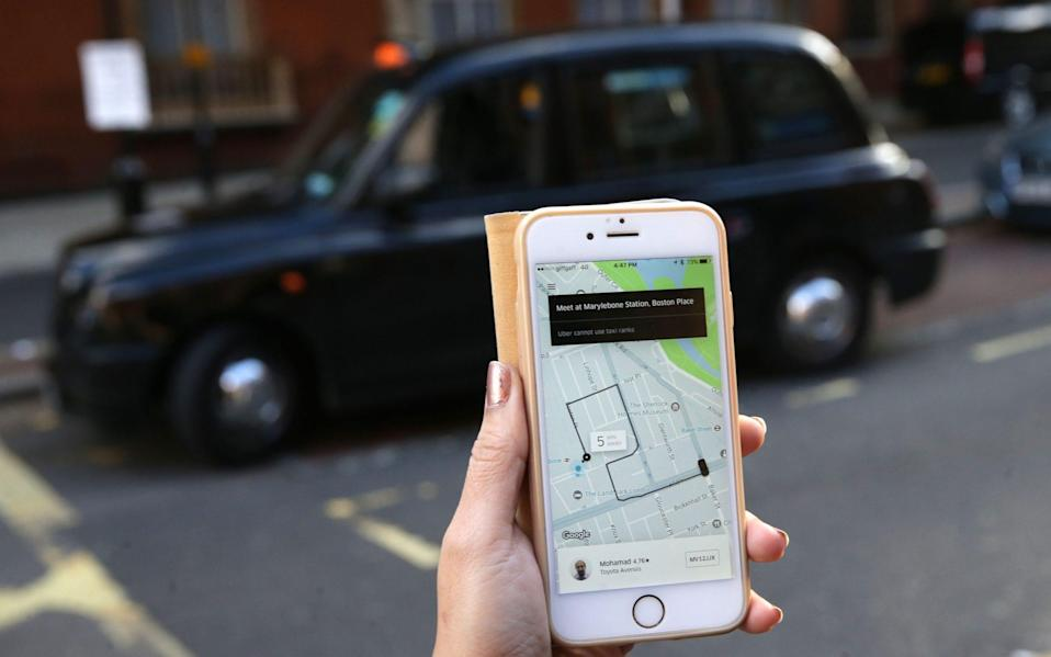 Uber wins London licence appeal