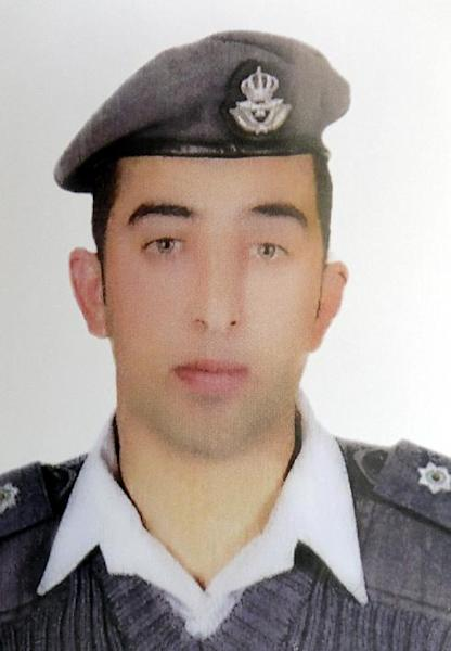 Maaz al-Kassasbeh was captured by the Islamic State group on December 24, 2014 in Syria (AFP Photo/)