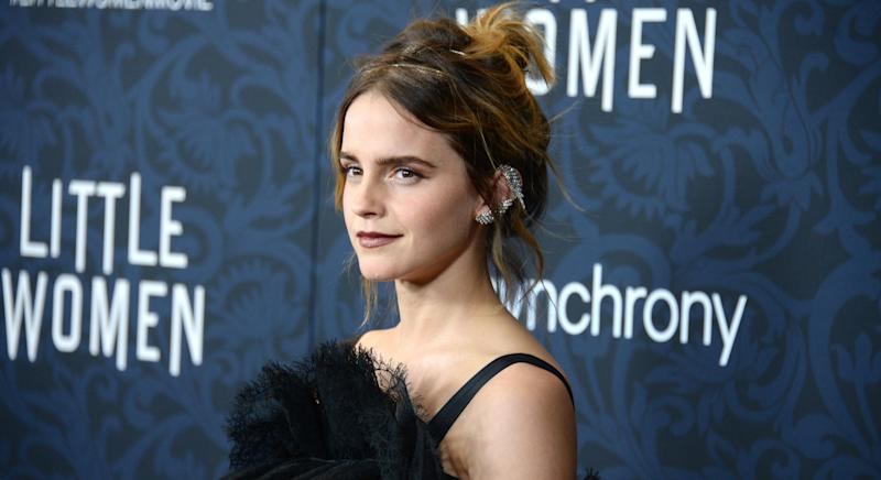 """Emma Watson has reflected that using the term """"self-partnered"""" to describe herself """"really riled"""" some people up (Getty Images)"""
