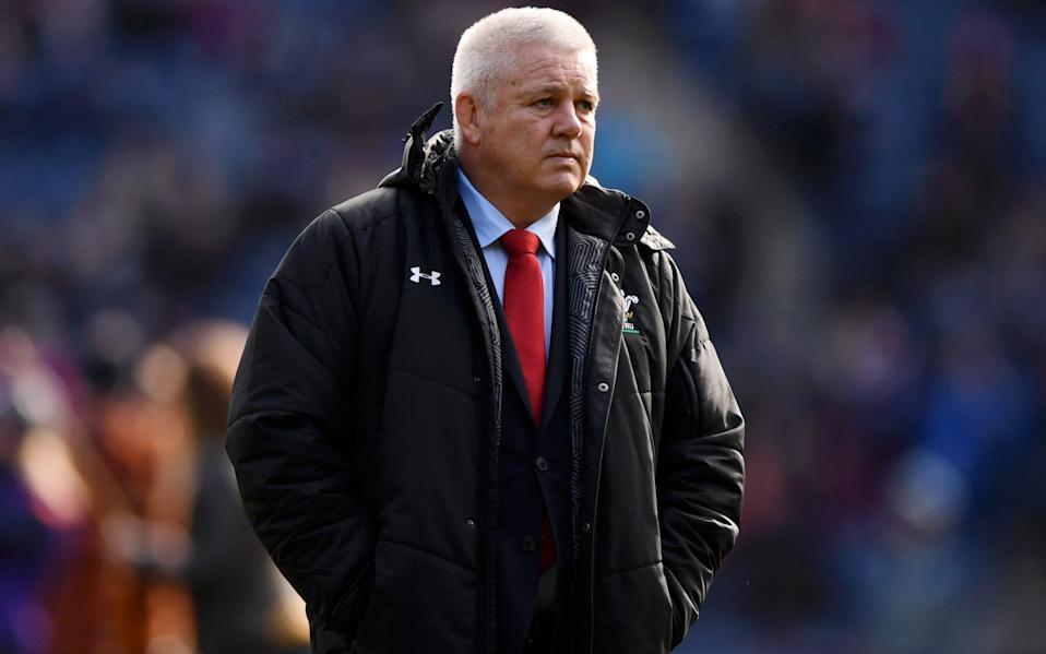 Warren Gatland was present to see yet another Sam Simmonds' masterclass - GETTY IMAGES