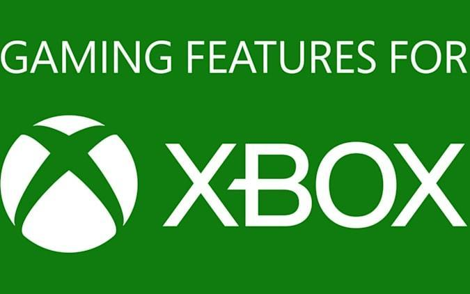 """Microsoft """"Gaming Features for Xbox"""" badge"""