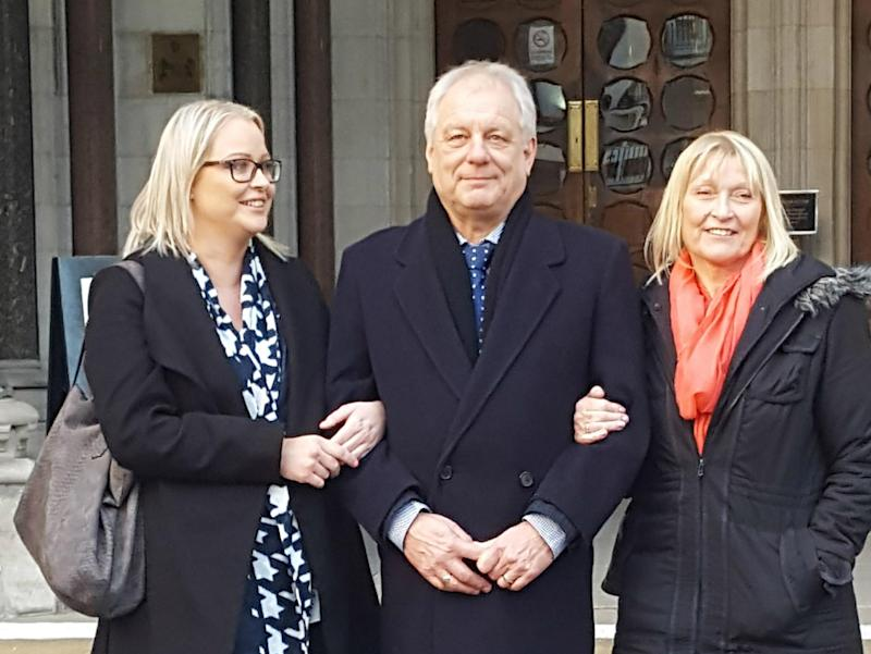 Stephen Simmons conviction for theft was overturned by the Court of Appeal 43 years after he served eight months in a youth offenders institute: PA