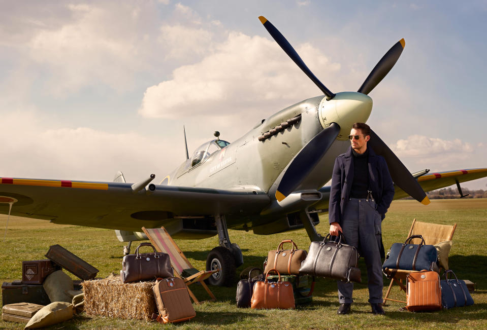 The collection is strongly inspired by Britain's aviatic history [Photo: Andy Barnham]