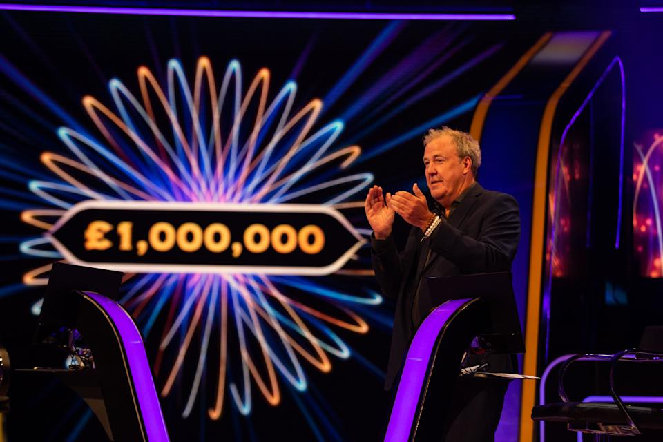 Jeremy Clarkson congratulates the winner (Stellify Media/ITV/PA)