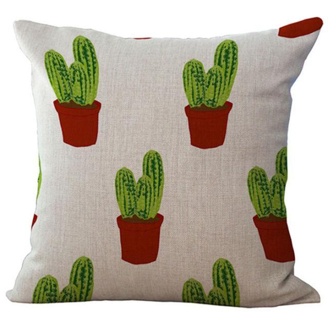 """<p>Jump on the cactus trend with a throw pillow your friends won't believe is from Walmart. ($9.99; <a href=""""https://www.walmart.com/ip/Decorative-Cushion-Case-Pillowcase-Polyester-Ramie-Square-Pillow-Cover-Pillowslip-18-x18-Type-4/442781228"""" rel=""""nofollow noopener"""" target=""""_blank"""" data-ylk=""""slk:walmart.com"""" class=""""link rapid-noclick-resp"""">walmart.com</a>)</p><p><strong><a href=""""https://www.walmart.com/ip/Decorative-Cushion-Case-Pillowcase-Polyester-Ramie-Square-Pillow-Cover-Pillowslip-18-x18-Type-4/442781228"""" rel=""""nofollow noopener"""" target=""""_blank"""" data-ylk=""""slk:BUY NOW"""" class=""""link rapid-noclick-resp"""">BUY NOW</a></strong><br></p><p><strong>RELATED: <a href=""""http://www.redbookmag.com/home/decor/advice/g149/comfortable-home-ideas/"""" rel=""""nofollow noopener"""" target=""""_blank"""" data-ylk=""""slk:20 Ways to Cozy Up Your Home"""" class=""""link rapid-noclick-resp"""">20 Ways to Cozy Up Your Home</a></strong></p>"""