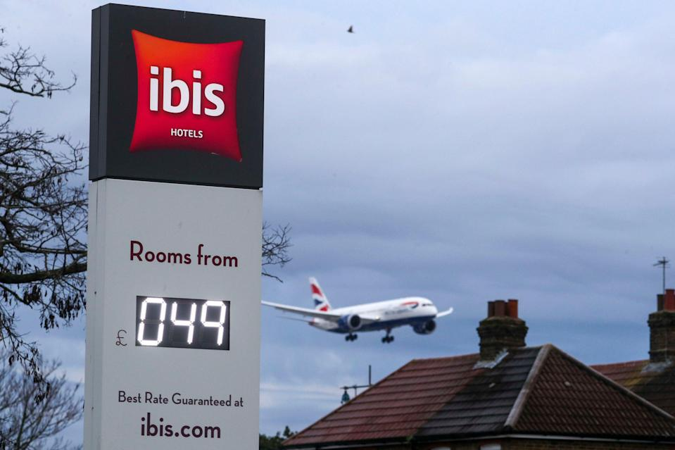 Bargain: You can't argue with Ibis pricing near Heathrow (You won't be able to)PA