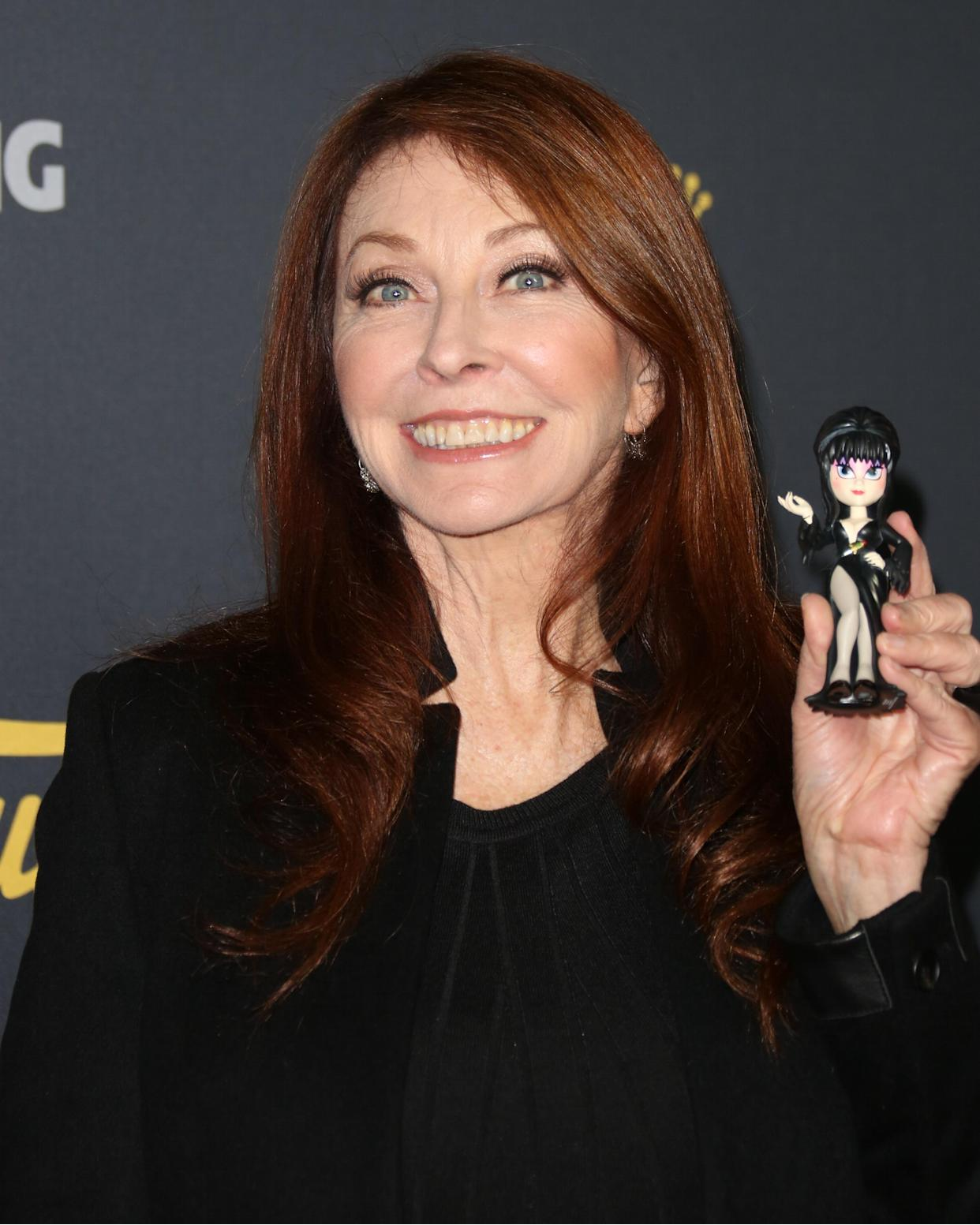 Cassandra Peterson with her alter ego in 2018.  (Photo: Paul Archuleta/Getty Images)