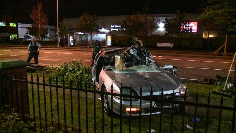 17-year-old dies after collision Wednesday in Surrey