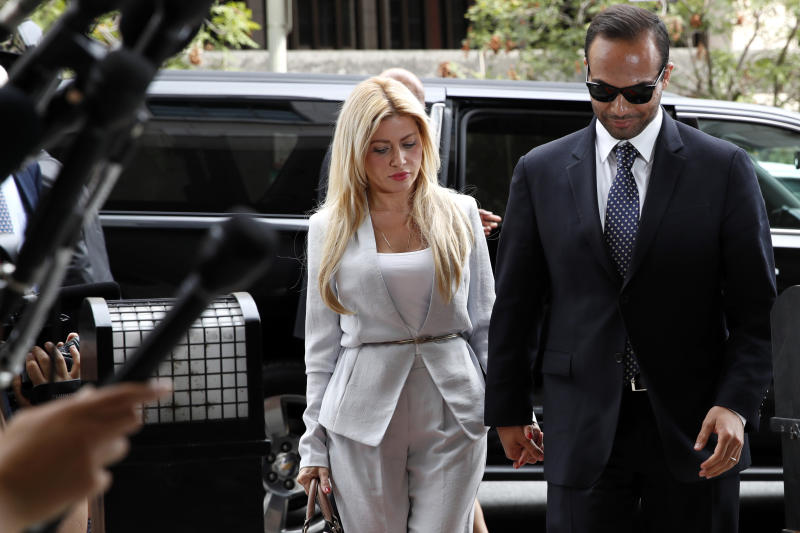 Ex-Trump adviser George Papadopoulos sentenced to 14 days in prison