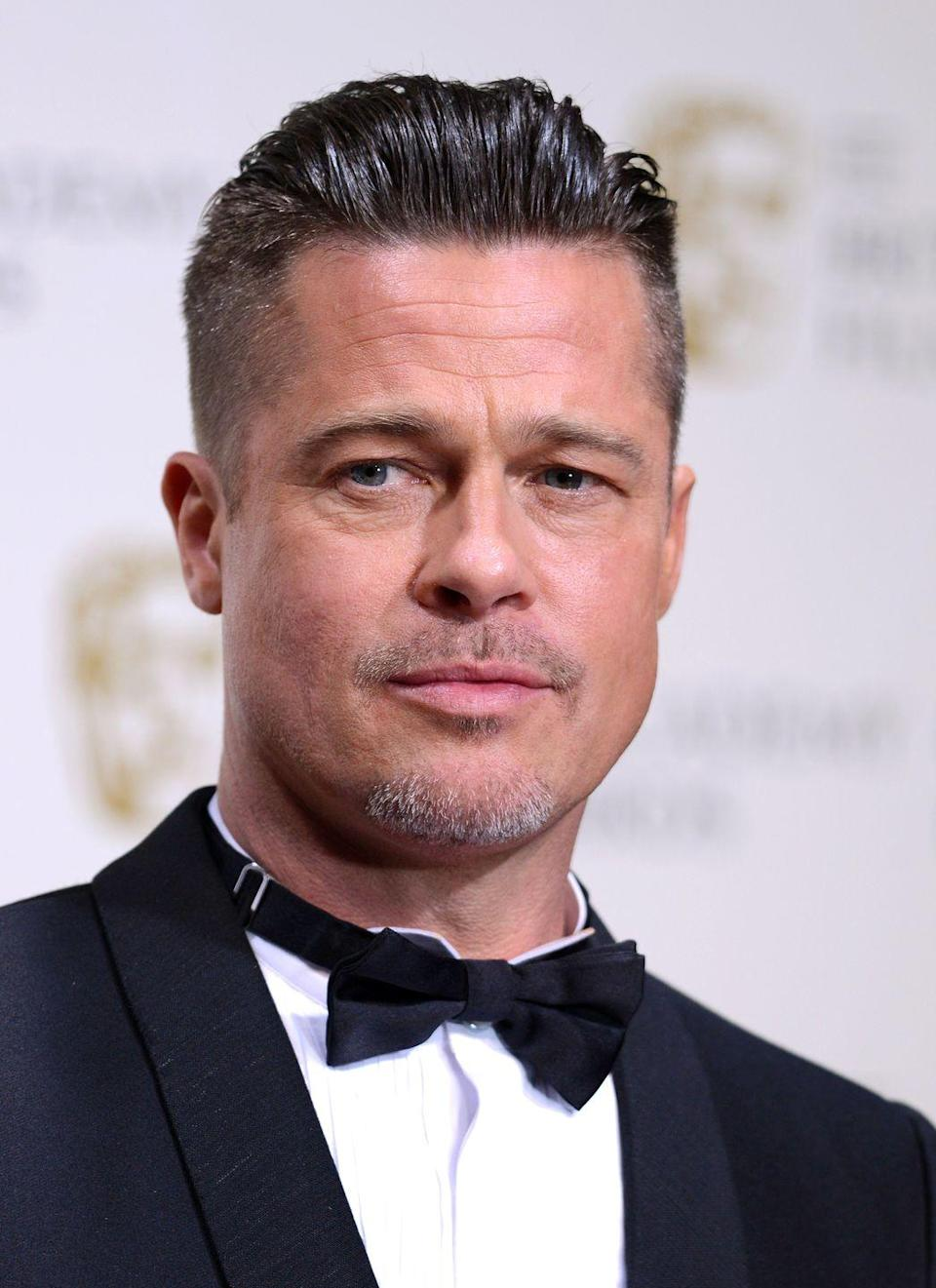 <p>A variation of this hairstyle has defined the men's hair zeitgeist for years now. Long on the top, short on the sides, it's extremely manageable (and made popular by almost every professional soccer player known to man), but for some reason, it just doesn't seem to fly when it comes to Brad.</p>
