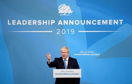 Britain's new leader Johnson: 'We are going to get Brexit done'
