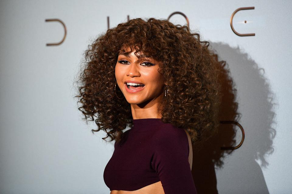 US actress Zendaya Coleman, aka Zendaya poses during a photocall ahead of the avant-premiere of the science-fiction movie