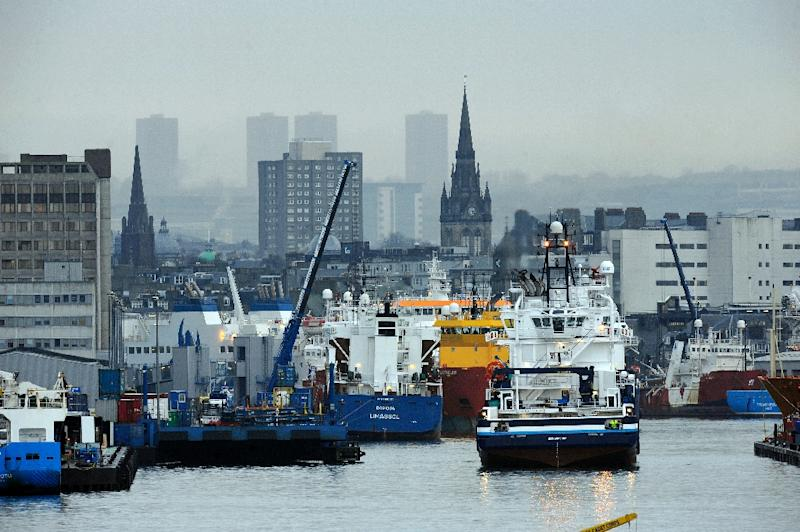 British Prime Minister David Cameron is to visit the oil city of Aberdeen, pictured, and meet industry bosses for talks on the hard hit oil industry in northeast Scotlan