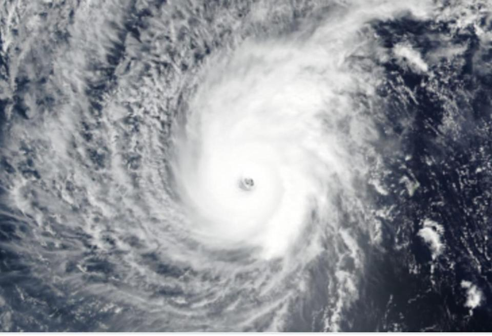 Recalling Wutip, February's first Category 5 typhoon