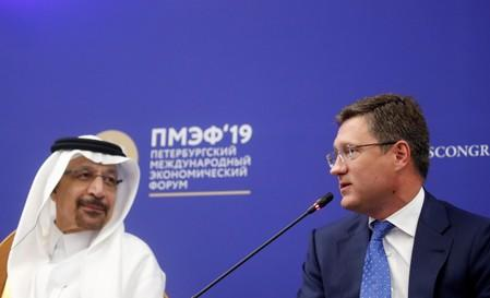 Russia's top Saudi negotiators praise Falih, say shake-up won't hurt ties