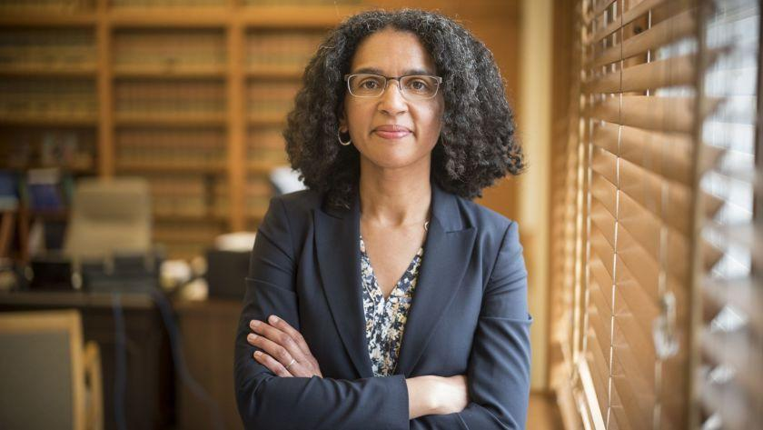 """Justice Leondra Kruger was appointed by Gov. Jerry Brown to the California Supreme Court. <span class=""""copyright"""">(David Butow / For The Times)</span>"""
