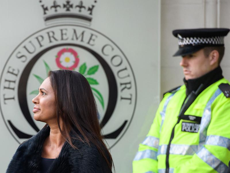 Campaigner Gina Miller arrives at the Supreme Court in January: Getty