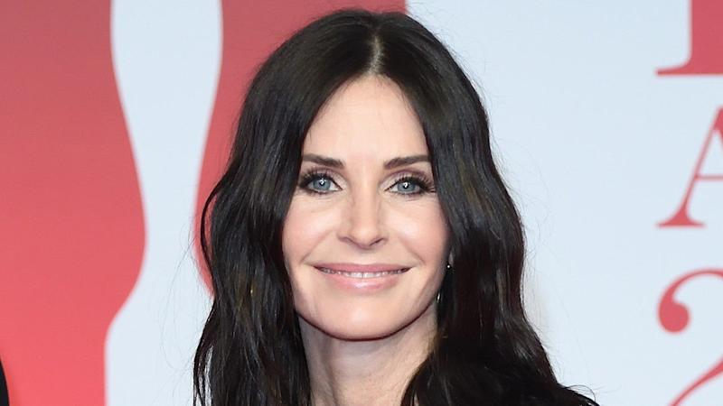 Courteney Cox Shares Rare Photo With Former 'Friends' Co-Star Matthew Perry