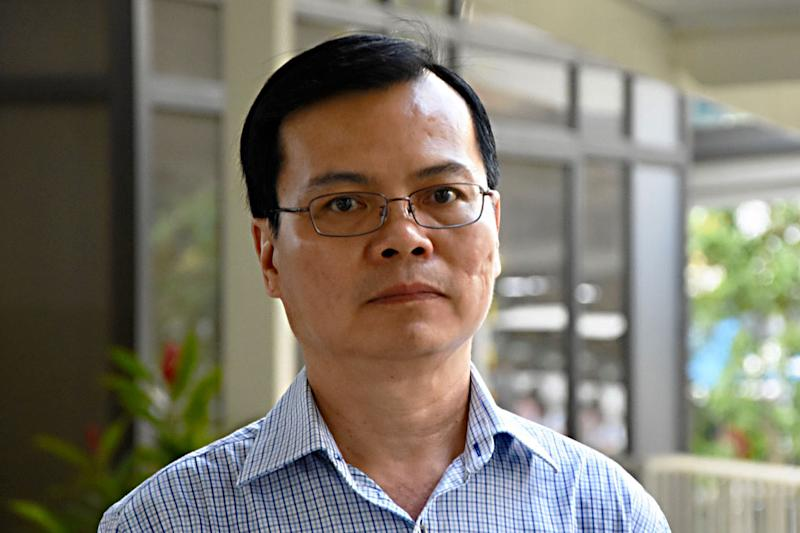 Wong Chee Meng, the former general manager of Ang Mo Kio Town Council. (PHOTO: Yahoo News Singapore / Suhaile MD)